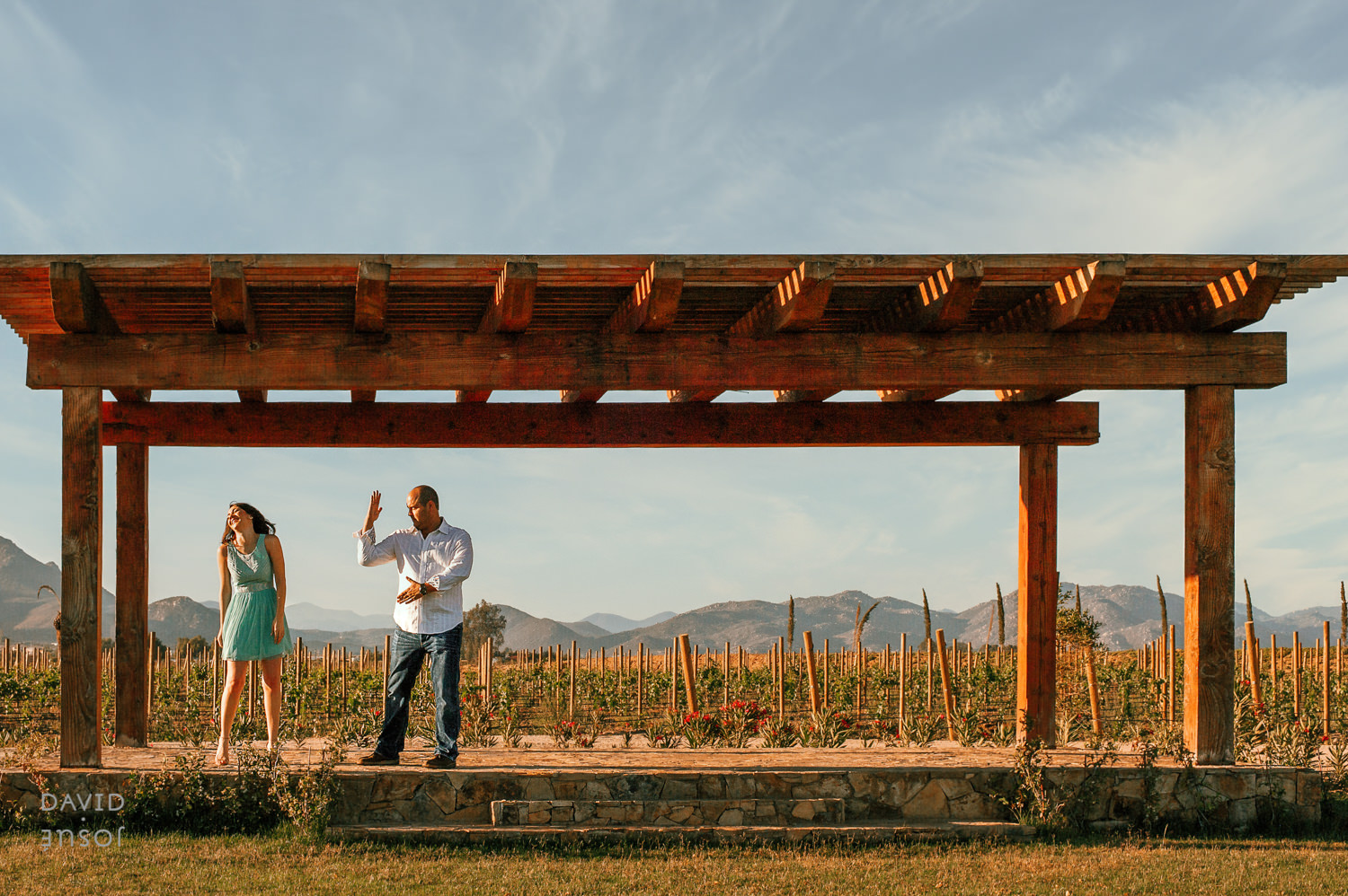 Romantic Light at Guadalupe Valley photos