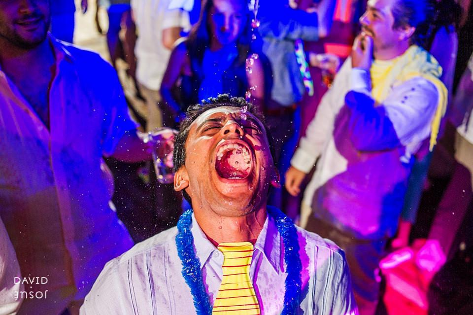35 fiesta novios papa boda cuatro cuatros rutadelvino