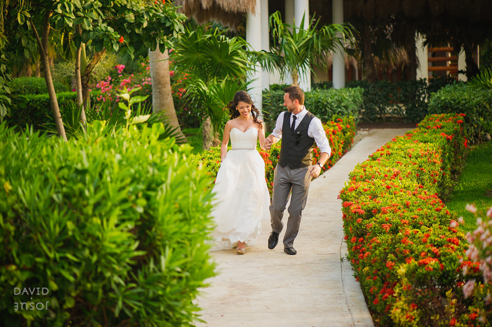 Beach Wedding Ceremony at Valentin Imperial