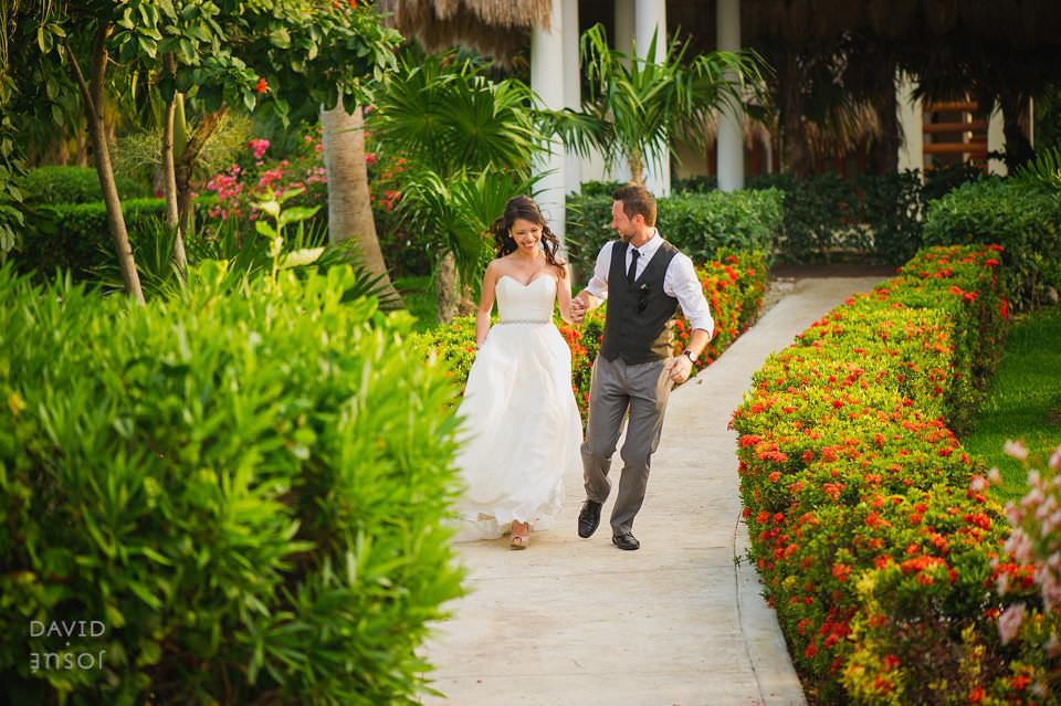 Beach Wedding Ceremony at Valentin Imperial
