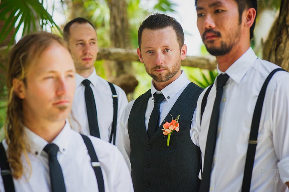 groom-groomsmen-riviera-maya-wedding